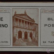 Postales: ALBUM DE ANTIGUAS POSTALES ARTE MODERNO. FOT. LACOSTE. 24 TARJETAS. Lote 41332179