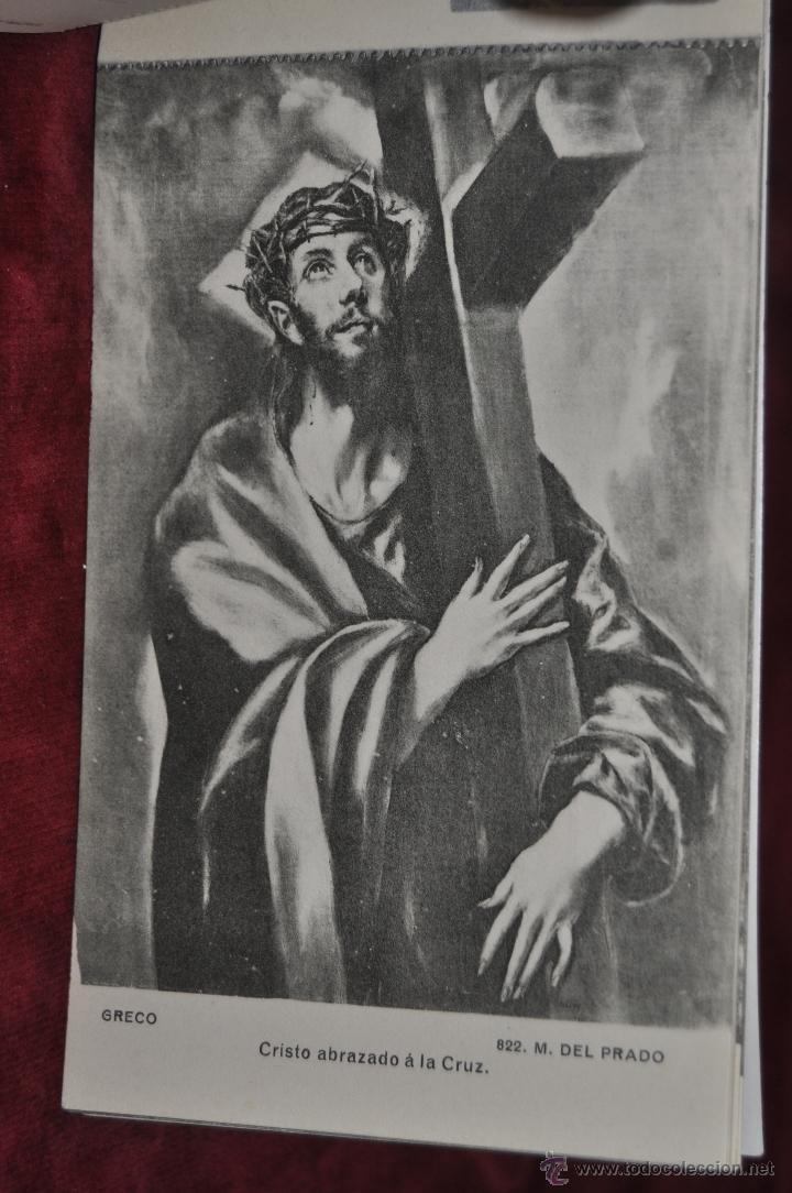 Postales: ALBUM DE ANTIGUAS POSTALES CUADROS DEL GRECO. MUSEO DEL PRADO. FOT. LACOSTE. 12 TARJETAS - Foto 7 - 41333302
