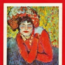 Postales: POSTAL GRANDE - LA MARGOT / PABLO PICASSO - PUB. LAURACICLINA / HOSBON - AÑO 1967 - RD12. Lote 41367011