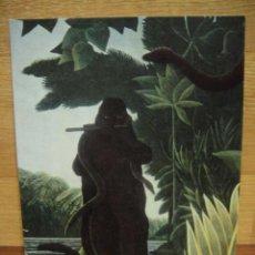 Postales: MUSEO DEL LOUVRE - PINTURA DE HENRI ROUSSEAU. Lote 41608552