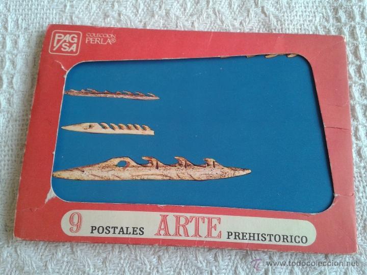 LOTE DE 9 POSTALES DE ARTE PREHISTORICO.... ALTAMIRA, CARNAC, ETC... (Postales - Postales Temáticas - Arte)