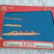 Postales: LOTE DE 9 POSTALES DE ARTE PREHISTORICO.... ALTAMIRA, CARNAC, ETC.... Lote 41899821