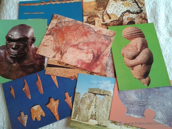 Postales: LOTE DE 9 POSTALES DE ARTE PREHISTORICO.... ALTAMIRA, CARNAC, ETC... - Foto 2 - 41899821