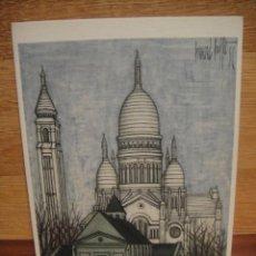 Postales: BERNARD BUFFET - PARIS EL SACRE COEUR. Lote 42015858