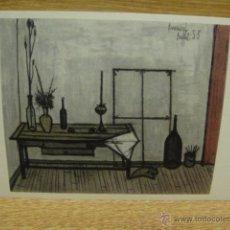 Postales: BERNARD BUFFET - INTERIOR PROVENZAL. Lote 42015973