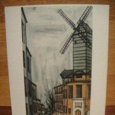 Postales: BERNARD BUFFET - EL MOLINO DE LA GALETTE. Lote 42016211