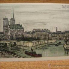 Postales: BERNARD BUFFET - PARIS. Lote 42016266