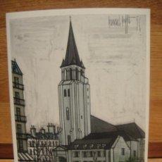 Postales: BERNARD BUFFET - PARIS SAINT GERMAIN. Lote 42016326
