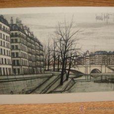 Postales: BERNARD BUFFET - PARIS , EL PUENTE DE LA TOURNELLE. Lote 42016441