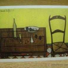 Postales: BERNARD BUFFET - NATURALEZA MUERTA. Lote 42016560