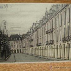 Postales: BERNARD BUFFET - PARIS , LA PLACE DES VOSGES. Lote 42016907