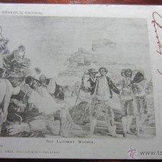 Postales: POSTAL PINTURA FOT LAURENT REVERSO SIN DIVIDIR. Lote 42171424