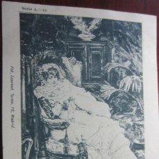 Postales: POSTAL PINTURA FOT LAURENT REVERSO SIN DIVIDIR. Lote 42171438