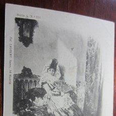 Postales: POSTAL PINTURA FOT LAURENT REVERSO SIN DIVIDIR. Lote 42171516
