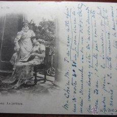 Postales: POSTAL PINTURA FOT LAURENT REVERSO SIN DIVIDIR. Lote 42171532
