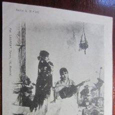 Postales: POSTAL PINTURA FOT LAURENT REVERSO SIN DIVIDIR. Lote 42171566