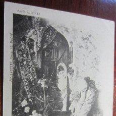 Postales: POSTAL PINTURA FOT LAURENT REVERSO SIN DIVIDIR. Lote 42171589