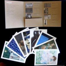 Postales: COLECCIÓN 8 POSTALES COLOR CHRISTIE'S 'ARTE ESPAÑOL', EN ESTUCHE, SUBASTA MADRID, HOTEL PALACE, 2008. Lote 42180181