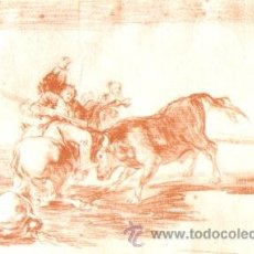 Postales: POSTAL DE ARTE ANTIGUA, DOS GRUPOS DE PICADORES, FRANCISCO DE GOYA, 15 X 10,5 CMS. Lote 42360659