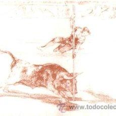 Postales: ANTIGUA POSTAL DE ARTE, TEMÁTICA TAURINA, FRANCISCO DE GOYA, 15 X 10,5 CMS. Lote 42404374