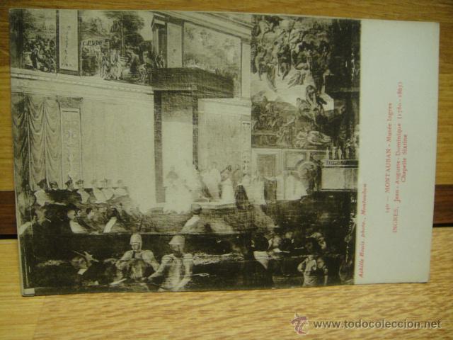 INGRES - CAPILLA SIXTINA (Postales - Postales Temáticas - Arte)