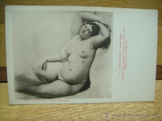 INGRES - BAÑO TURCO (Postales - Postales Temáticas - Arte)