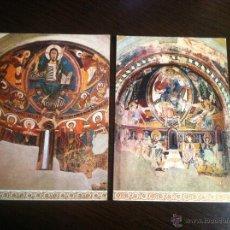 Postales: LOTE DE 2 POSTALES 1ª Y 2ª SERIE ROMANICA. MUSEO DE ARTE DE CATALUÑA. SIN CIRCULAR. Lote 42534301