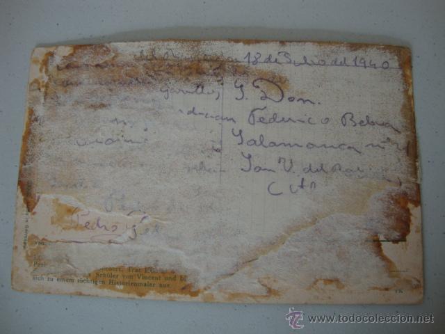 Postales: ANTIGUA POSTAL 100X100 ORIGINAL DE LOS AÑOS 20 - Foto 2 - 42544266