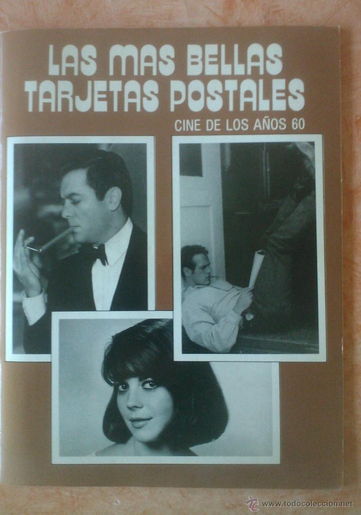 LAS MAS BELLAS TARJETAS POSTALES DEL CINE DE LOS AÑOS 60 (Postales - Postales Temáticas - Arte)