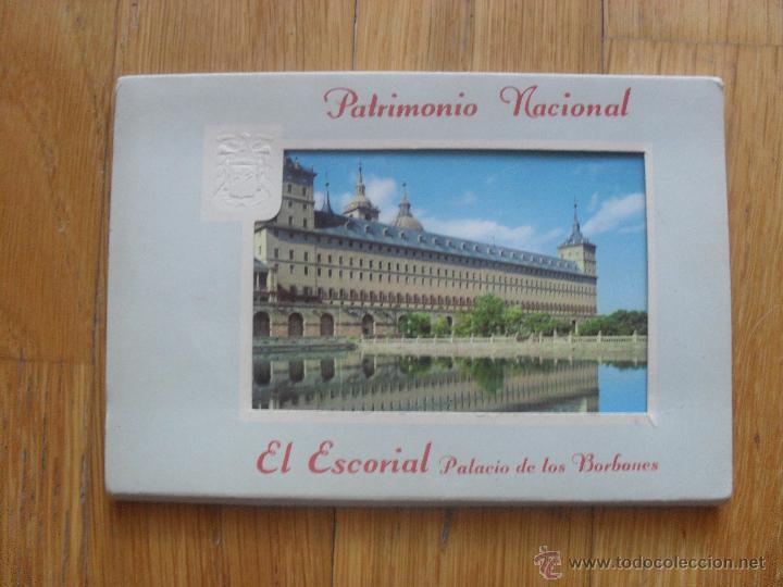 POSTALES ACORDEON PATRIMONIO NACIONAL EL ESCORIAL , 9 POSTALES (Postales - Postales Temáticas - Arte)