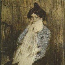 Postales: PICASSO, LOLA, LA HERMANA DEL ARTISTA (1899). Lote 42960401