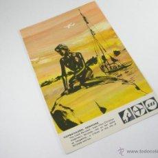 Postales: POSTAL- DINAMARCA-COPENHAGEN-PUBLICIDAD-SAS-NUEVA.. Lote 43021105