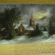 Postales: PAISAJE INVERNAL - POSTAL ESCRITA 1928. Lote 43094538