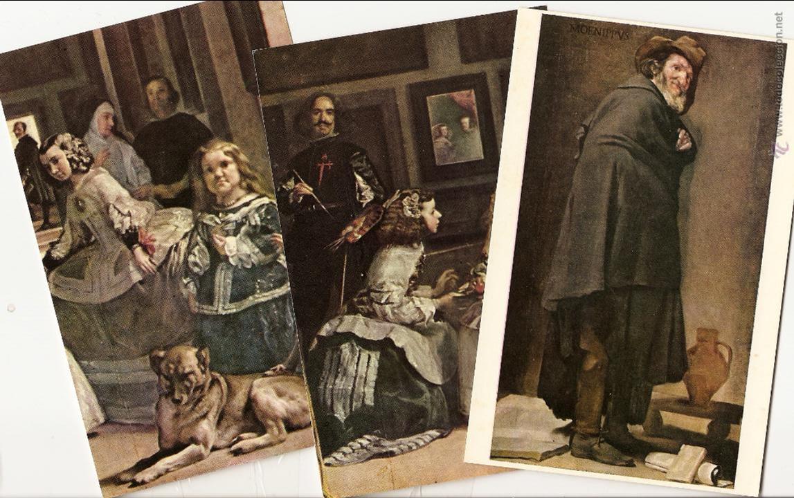 Postales: 20 POSTALES DE VELAZQUEZ, ED. OFFO, 1959, REPRODUCCIONES DE OBRAS MAESTRAS DEL MUSEO DEL PRADO - Foto 3 - 43564436