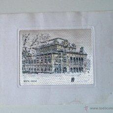 Postales: RARA POSTAL DE LA OPERA DE VIENA, COLOREADA. Lote 43721833