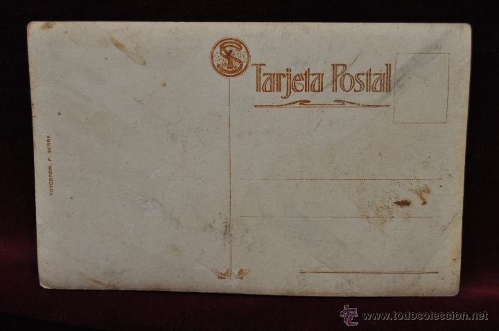 Postales: ANTIGUA FOTO POSTAL DEL PINTOR GALOFRE OLLER. PRINCIPIOS DEL SIGLO XX - Foto 2 - 43761738