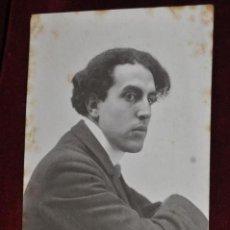 Postales: ANTIGUA FOTO POSTAL DEL PINTOR JAUME PAHISSA. PRINCIPIOS DEL SIGLO XX. Lote 43761947