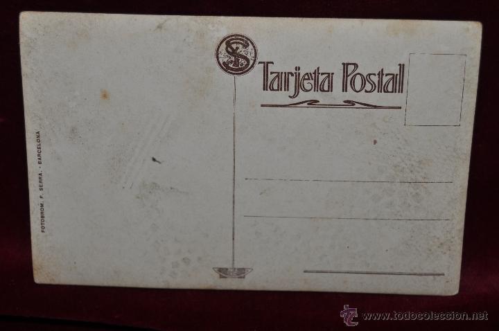 Postales: ANTIGUA FOTO POSTAL DEL PINTOR JOAN LLIMONA. PRINCIPIOS DEL SIGLO XX - Foto 2 - 43761964