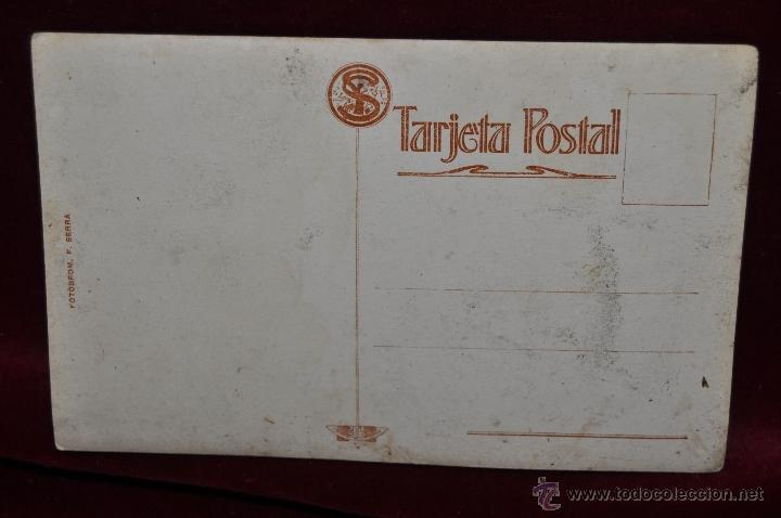Postales: ANTIGUA FOTO POSTAL DEL PINTOR BONAVENTURA PUIG PERUCHO. PRINCIPIOS DEL SIGLO XX - Foto 2 - 43762002