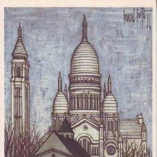 Postales: BERNARD BUFFET: PARIS. LE SACRÉ-COEUR.. Lote 43803900