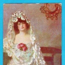 Postales: JEREZANA - PINTURA DE RAMON CASAS - Nº 4 - ED. VICTORIA - NUEVA - PRICIPIOS S. XX - RD15J. Lote 43965093