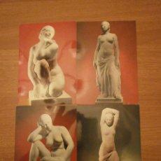 Postales: COLECCION 20 POSTALES MUSEO CLARA 1A.SERIE DE 20 MODELOS SIN CIRCULAR. Lote 44093415