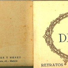 Postales: ALBUM. MADRID. MUSEO DEL PRADO, GOYA, RETRATOS. 20 TARJETAS POSTALES. HAUSER Y MENET.. Lote 44688442