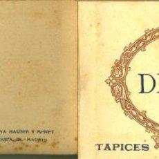Postales: ALBUM. MADRID. MUSEO DEL PRADO, GOYA, TAPICES. 20 TARJETAS POSTALES. HAUSER Y MENET.. Lote 44688518