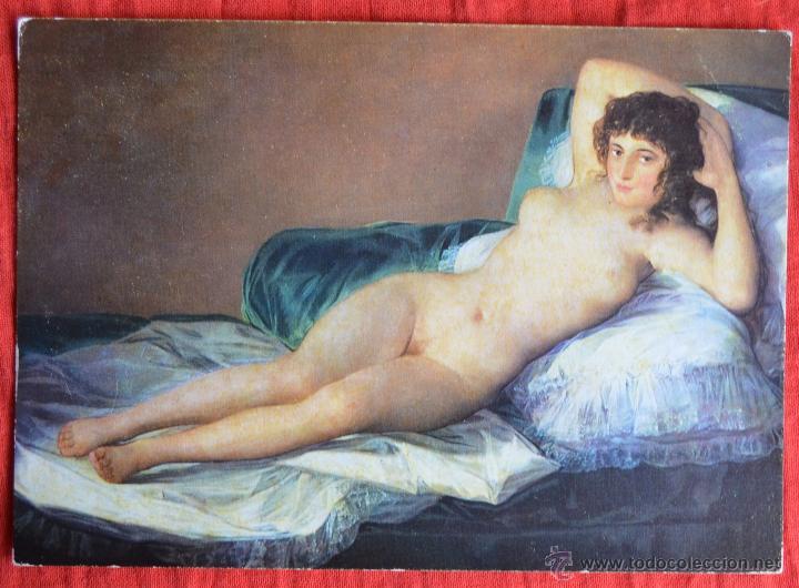 La Maja Desnuda Goya Museo Del Prado Fotocolor Dominguez