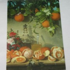 Postales: BONITA POSTAL - BODEGON DE NARANJAS 1862 - MUSEO DE BELLAS ARTES DE CORDOBA - SIN CIRCULAR. Lote 44819807