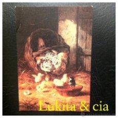 Postales: POSTAL Nº 7 - MÁLAGA, MUSEO DE BELLAS ARTES - UNA MADRE CON SUS HIJOS - POSTALES ESCUDO DE ORO.. Lote 45157303