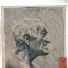 Postales: TARJETA POSTAL DE SORIA AVALL. ESTUDIO GALOFRE OLLER. 1902.. Lote 45370071