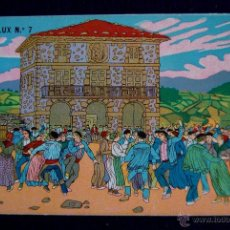 Postales: POSTAL DE J. ARRUE. EDICION CASA LUX Nº7. AÑO 1931. COSTUMBRISTA VASCA.. Lote 294053128