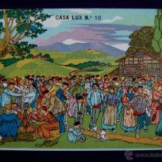 Postales: POSTAL DE J. ARRUE. EDICION CASA LUX Nº10. AÑO 1931. COSTUMBRISTA VASCA.. Lote 45439551